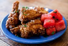 Yardbird - Miami, Florida | Old School Traditional Southern Food | Fried Chicken with Spiced Watermelon.