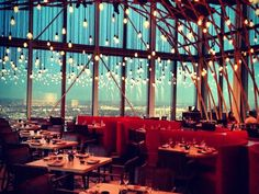 SushiSamba, London. 38th floor view!    SushiSamba's review on Gogobot:  http://www.gogobot.com/sushisamba-london-restaurant