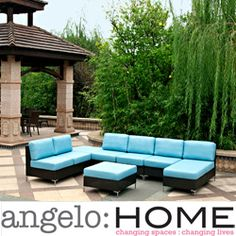 1000 images about patio furniture on pinterest club chairs belize and outdoor Angelo home patio furniture
