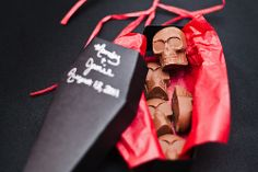 A Halloween wedding favor that's sure to please all of your guests!