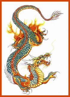 Dragon chinois                                                                                                                                                                                 Plus
