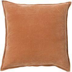 House of Hampton Askern Smooth Velvet Cotton Throw Pillow & Reviews…