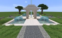 Fountains of Health Minecraft Project