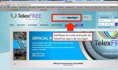 PASSO 3 - certifique-se que consta o seu LOGIN no site para cadastrar o voip