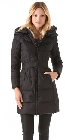 Add Down Gloss Icon Puffer Coat New Look Fashion a576a3872
