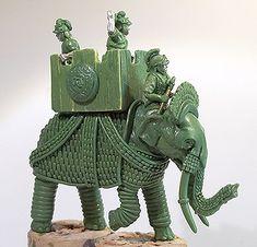 seleucid armoured elephant 54mm models - Google Search
