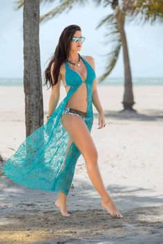 Garotas - Vestido Largo Ref 735 #Playa #Beach #Beachwear #Fashion #Moda #Sum