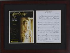School Auction Ideas Taylor Swift autographed sheet music #school #fundraising #auction #schoolauctionideas https://www.cfr1.org/school-auction-ideas/