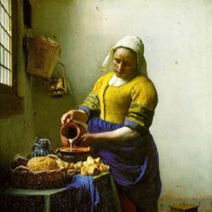 Vermeer. One of my favorites. Beautiful.