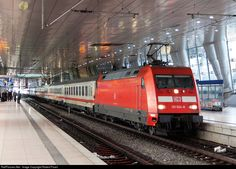 RailPictures.Net Photo: 101 024-8 DB AG BR 101 at Frankfurt, Germany by Robert Pisani