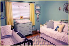 Nursery/Guest room done!  #nursery #babyboy