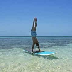 Handstands on a Paddleboard!