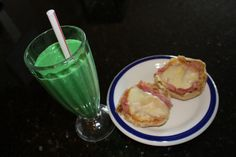 St. Paddy's Day Snack: For the wee ones who aren't ready for a real reuben... Slainte!