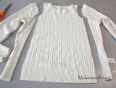 Grosgrain: Sweater Redo: Girl's Dress