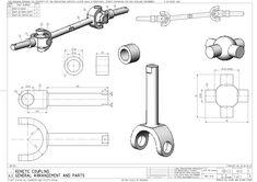 dessin mecanique - Recherche Google