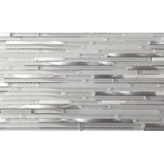 Martini Mosaic Riga Random Sized Natural Stone Frosted / Polished Mosaic in Marble Ice