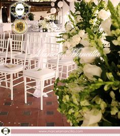 Weeding an Event Planner en #Cartagena #Colombia www.marcelamancilla.com Weeding, Table Decorations, Furniture, Home Decor, Cartagena Colombia, Weddings, Grass, Decoration Home, Weed Control