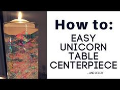 Unicorn Dream Table Decor {Adult Friendly} - A Sparkly Life for Me
