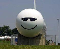 Sunglasses cool Propane Tank Art, Farm Art, Steel Art, Metal Crafts, Yard Ideas, Metal Working, Cool Art, Camping, Paintings