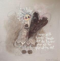 For alt liv går ut fra det. Colorful Paintings, Art Girl, Girls, Art, Photo Illustration, Little Girls, Daughters