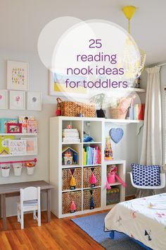 Is your little one ready to start learning to read on their own? With these 25 reading nook ideas for toddlers, you'll make storytime so much fun. From a designated reading chair to a cozy teepee filled with their favorite books, there are so many ways to encourage your toddler to fall in love with reading.
