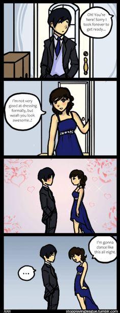 My boyfriend wears Tuxedos really well! As for me.. I wanna wear a tux… >:T