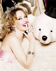 kylietous6 Kylie Minogue by Ellen von Unwerth for TOUS