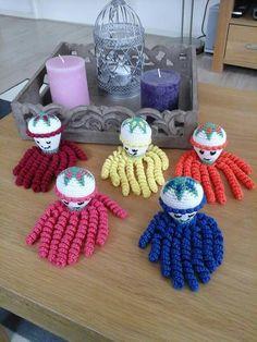 25 Beste Afbeeldingen Van Inktvisje Octopus Amigurumi En