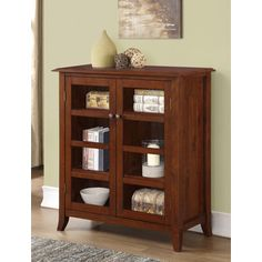 Shop for WYNDENHALL Collins Medium Storage Cabinet. Get free shipping at…