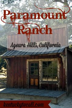 At the base of the Santa Monica Mountains, near Malibu CA, lies Paramount Ranch. A unique glimpse into Old Hollywood.