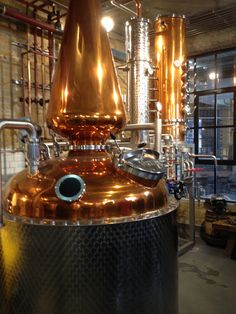 Inside The London Distillery Co. Distillery, Puppet, Whisky, Bourbon, Coffee Maker, Beer, King, London, Drinks