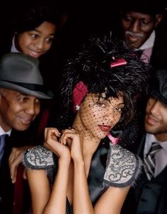 Harlem Renaissance Wedding Theme | Cora & Rahsirearl - wedding website by mywedding.com