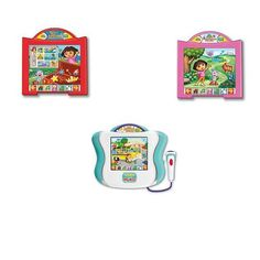 Fisher-Price Learn Through Music TouchPad with Software - Girl by Fisher-Price. $74.00. Recommended Age: 2 years and up. Introducing the Fisher-Price Learn Through Music TouchPad with Software - Girl, an updated version of the original, best-selling Learn Through Music system which teaches preschoolers fundamental lessons through rhythm, rhyme, repetition and the magic of music. The new TouchPad features a touch-sensitive light-up screen. Just touch the screen for i...