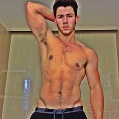 Nick Jonas shows off ripped bod (Instagram) holy mother of....
