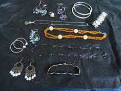 Earrings, necklaces, bracelets!
