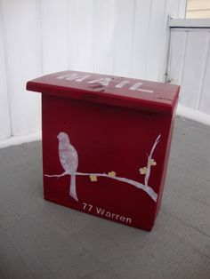 mail box makeover | put a bird on it
