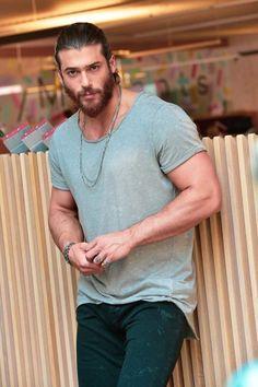 Turkish Men, Turkish Fashion, Turkish Beauty, Turkish Actors, Beautiful Men Faces, Gorgeous Men, Mens Hairstyles With Beard, How To Look Handsome, Fine Men