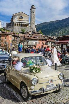 Decorazioni per l'auto di nozze #matrimonio #nozze #sposi #sposa #auto #500 #decorazioniautonozze #automatrimonio