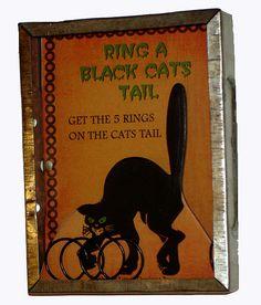 Black Cat Bingo games - Ring a Black Cat's Tail