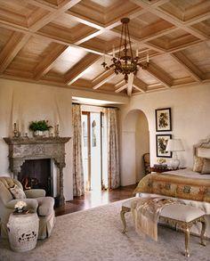 Hilltop Villa - mediterranean - bedroom - san francisco - Tucker & Marks