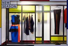 after mondrian Liberty Window Gallery: AW14 New Season Fashion