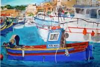 Watercolour Royal Watercolour Society in Malta 7 - 14 March 2013 Bankside Gallery London, opening Wednesday March. Barbara Rae, Peter Blake, Quentin Blake, Malta, Modern Art, Fair Grounds, London, Explore