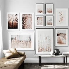 Farm Plant Reed Flower Wall Art Canvas Painting Nordic Posters And Prints Wall Pictures For Living Room Scandinavian Home Decor Leaf Wall Art, Wall Art Decor, Canvas Wall Art, Wall Art Prints, Canvas Poster, Print Poster, Tree Canvas, Canvas Prints, Painting Canvas