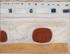 William Scott, Untitled, c.1960, Oil and sand on canvas, 86.4 × 111.8 cm / 34 × 44 in, Private collection
