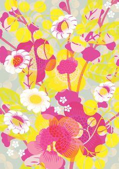 Etwas Farbe und einen Sonnentag wünschen wir mit der Schwedischen Designerin Hanna Werning.