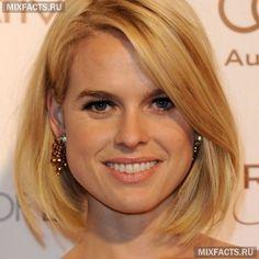 стрижка для круглого лица -удлиненный боб с косой челкой. haircut for round face #beauty