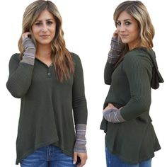 """Top- $49  Elisha is 5' 3"""" and wearing a small  #204B ***How to Order***  …"""