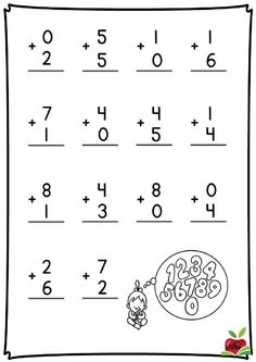 Fall Math and Literacy Worksheet Pack - First Grade Kindergarten Addition Worksheets, Math Workbook, Printable Preschool Worksheets, Kindergarten Math Activities, Kindergarten Math Worksheets, Math Charts, First Grade Math, Flashcard, Too Faced