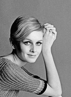 Twiggy. People describe her haircut as boyish, but it's actually really pretty and shows off her beautiful face.