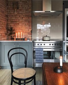 Kitchen goals * Interiors * The Inner Interiorista Kitchen Interior, Room Interior, Interior Design Living Room, Interior Decorating, Kitchen Dining, Kitchen Decor, Beautiful Interior Design, Hygge, Interior Inspiration